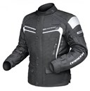 DRIRIDER APEX 3 WATERPROOF TEXTILE JACKET - BLACK / WHITE