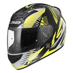 (CLEARANCE) LS2 ROOKIE FF352 ECE HELMET - WHITE/BLACK/YELLOW
