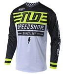 TROY LEE DESIGNS 2019 GP AIR JERSEY BOLT FLO YELLOW