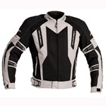 (CLEARANCE SALE) - RST VENTILATOR 4 WATERPROOF TEXTILE JACKET - BLACK/SILVER