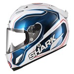 Shark Race-R Pro Replica Guintoli ECE Helmet - White/Blue