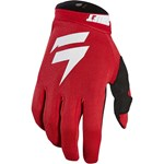 (CLEARANCE) 2018 SHIFT WHIT3 LABEL MX AIR GLOVE - RED