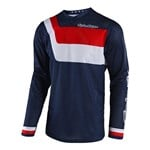 (CLEARANCE) TROY LEE DESIGNS 2018 GP AIR PRISMA JERSEY NAVY