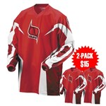 MSR M9 Axxis Men's Jersey - Red only $9, 2-Pack only $15