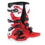 ALPINESTARS TECH 5 BOOTS - RED/WHITE