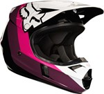 FOX 2018 YOUTH V1 HALYN HELMET - BLACK/PINK