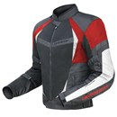DriRider Air Ride 2 Mens Textile Jacket Black Red