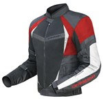 (CLEARANCE SALE) - DriRider Air Ride 2 Mens Textile Jacket - Black Red
