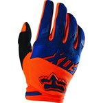 (CLEARANCE SALE) - FOX 2016 DIRTPAW RACE GLOVES - ORANGE/BLUE