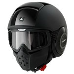 (CLEARANCE SALE) - Shark Raw Helmet - Dual Black