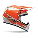 (CLEARANCE SALE) - Bell MX-9 Helmet - Blockade Orange