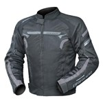 DRIRIDER Air Ride 4 Textile Jacket - Black/Grey