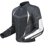 (CLEARANCE SALE) - DriRider Air Ride 2 Mens Textile Jacket - Black White