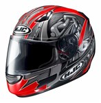 (CLEARANCE) HJC CL-SP APEX MC1 RED