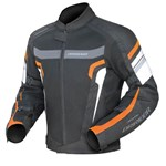 (CLEARANCE SALE) - Dririder Air Ride 3 Jacket -Black Orange
