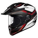 Shoei Hornet ADV Seeker TC-1 Dual Sport Helmet -Red