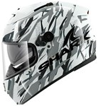 (CLEARANCE SALE) - Shark Speed-R Series 2 Helmet - Fighta White Silver