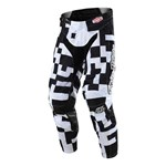 TROY LEE DESIGNS 2018 GP MAZE YOUTH PANTS WHITE / BLACK