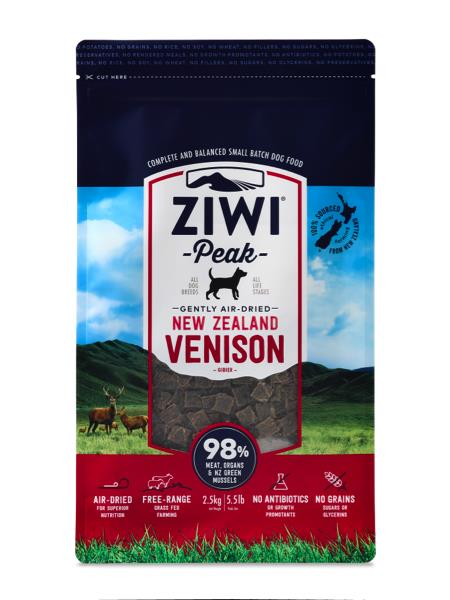 Ziwi Peak 100 Natural Balanced Real Air Dried Meat Diet