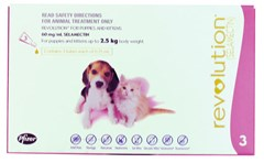 Revolution for Puppies and Kittens up to 2.5kg