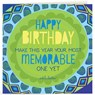 Life Card - Memorable Birthday
