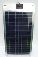 Semi Flexible Solar Panel 20 Watt 12 Volt