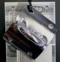 Seasure Dinghy Mast Plate, Vertical Eye 16.03