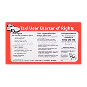 Passenger Charter of Rights