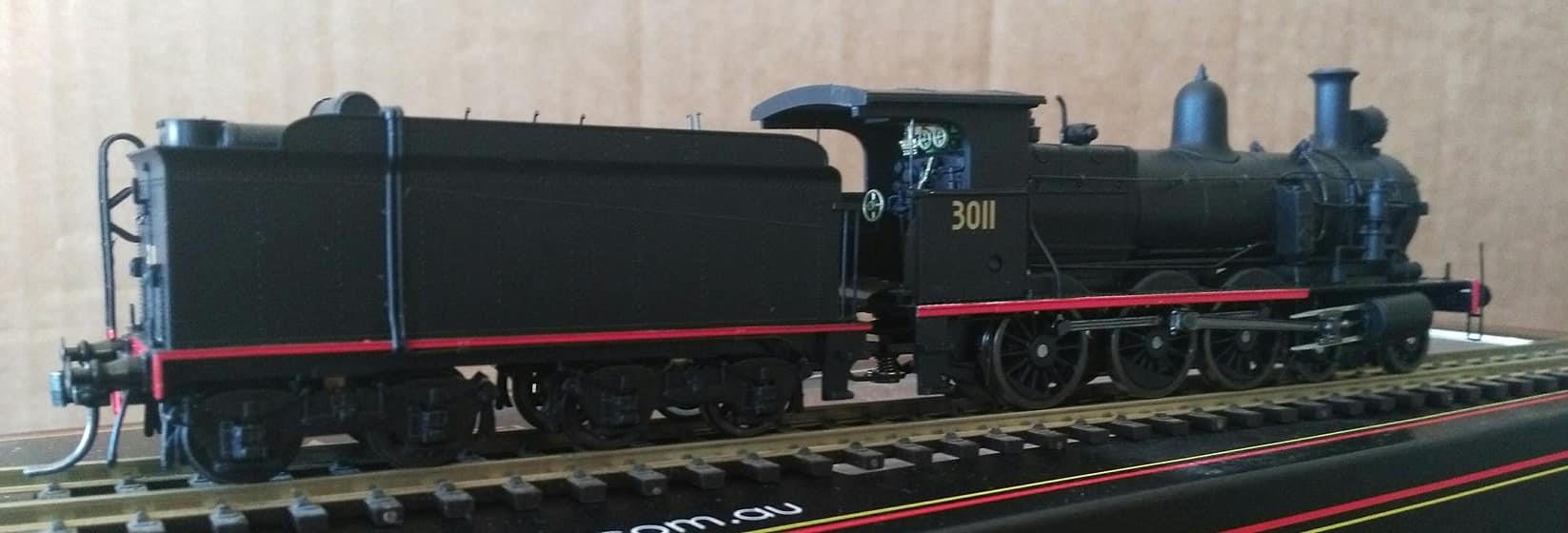 Wombat Models HO Scale NSWGR C30T Class Locomotive #3011 with Superheated  Boiler