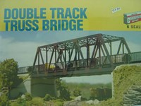 Walthers Cornerstone N/Scale Kit Double Track Truss Bridge