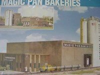 Walthers Cornerstone HO/Scale Kit Magic Pan Bakeries