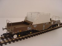 Bachmann OO/Scale BL38345 FNA Nuclear Flask Wagon with Flat Floor