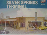 Walthers Cornerstone HO/Scale Kit - Silver Springs Bus Terminal