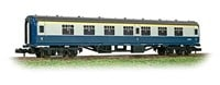 Graham Farish N/Scale MK1 FK First Corridor Passenger Coach BR Blue & Grey livery