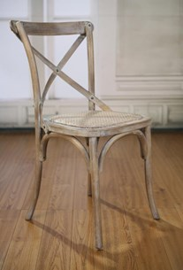 Dining Chair - White Wash Oak Charmont
