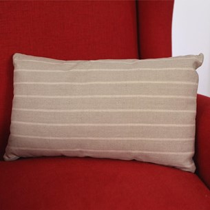 Stripe Lumbar Cushion