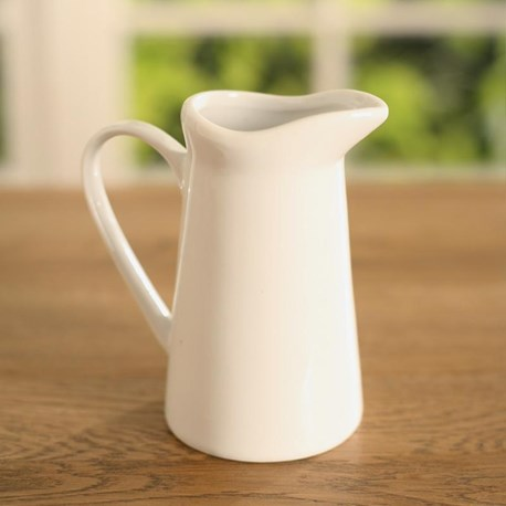 Ceramic Milk Creamer - Wavy
