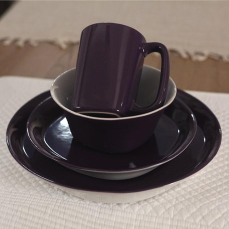 Aberdeen Dinnerware (One Setting) - Grape