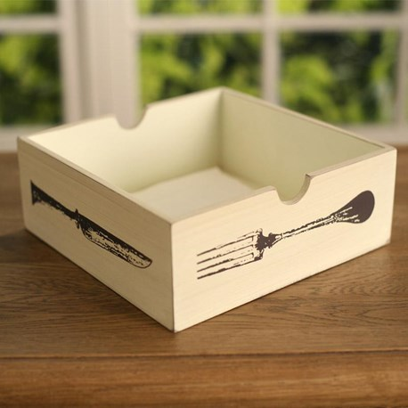 Napkin Holder - 'Cuisine'