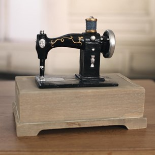 Sewing Machine Trinket Box
