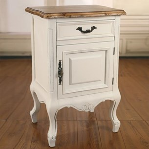 Bedside Chest with Door 'Sophia'