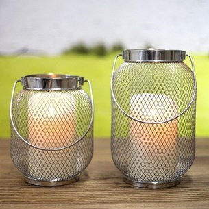 Wire Candle Holder - Two Sizes