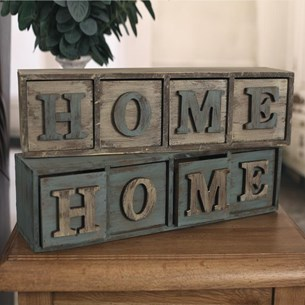 HOME Storage Boxes - Two Colours