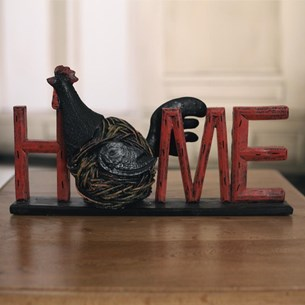Country Chook HOME Decor Word - Large