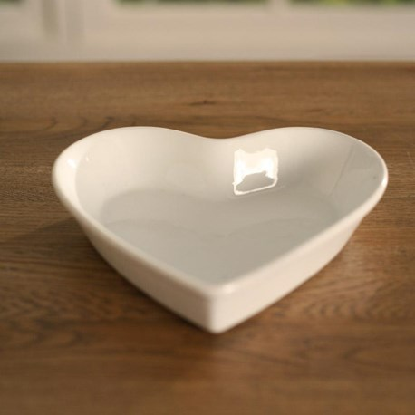 Heart Shaped Plate small