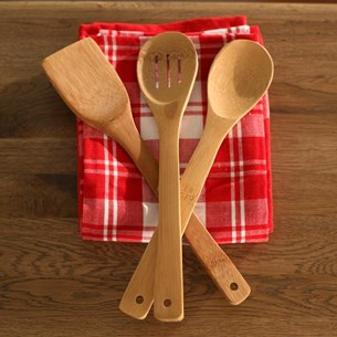 Bamboo Utensils - Four Styles