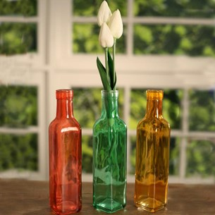 Coloured Bottles - Large