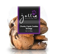 Chunky Carob Chip Cookies for dogs 300g