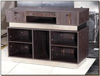 "Cash desk ""The Royale"" stunning new cash desk in rich colour, salon reception desk"