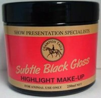 Subtle Black Highlight Make-up 250ml